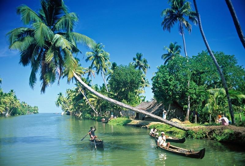 Kerala Indien @RikaKvinnor.se
